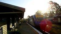 XPT passes Paterson Station