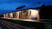 Unused station building