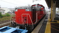 DD51 paused at Higashi-Muroran