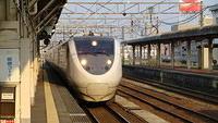 Thunderbird arriving at Toyama