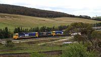 Garbarge Train at Crisps Creek