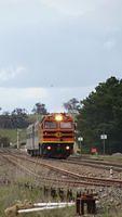 Departing Tarago Station