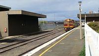 Arriving at Canberra Station