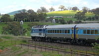 Southbound XPT