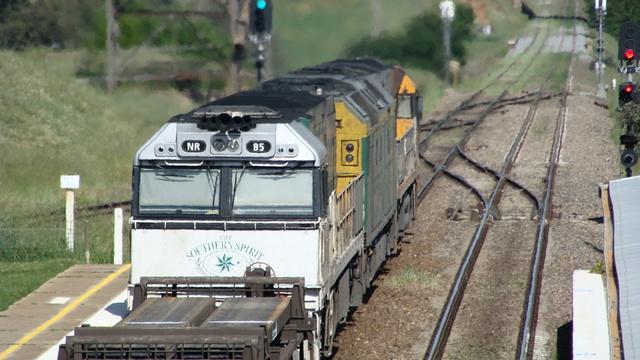 Southern Spirit on freight duties
