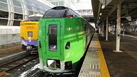Super Hakucho bound for Hakodate at Hachinohe