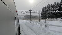Somewhere between Hachinohe and Aomori