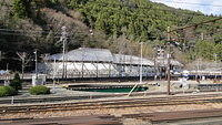 Turntable at Senzu Station