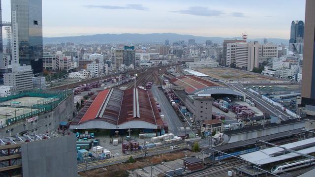 JR Freight Yards Umeda