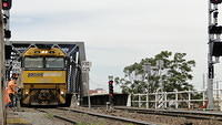 NR32 leading freight out of Melbourne