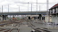 Yards at Southern Cross Station