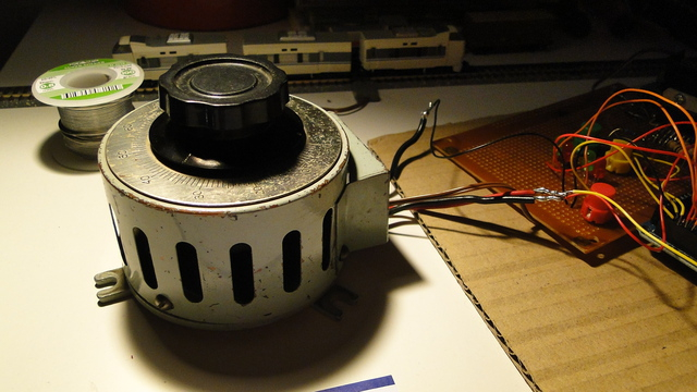 Potentiometer in action