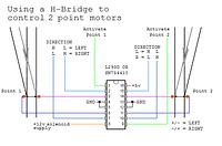 H-Bridge + Electromagnet wiring