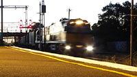 Intermodal entering Footscray