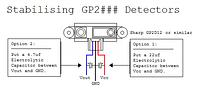 Stabilising a Sharp IR Detector