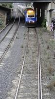 XPT entering Tottenham
