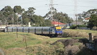 XPT on Bridge near Pascoe Vale