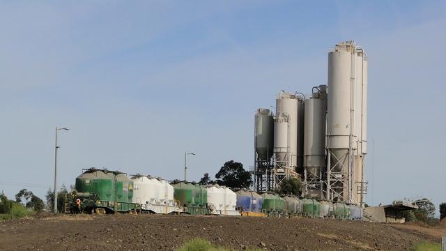 Cement near Somerton Loop