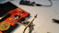 Initial soldering test