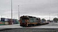 8114 shunting containers