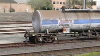 Derailed tanker at Tottenham