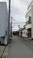 Yoro Railway level crossing in Ogaki