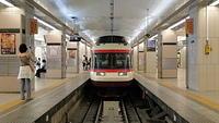 Odakyu Romancecar at Shinjuku Station