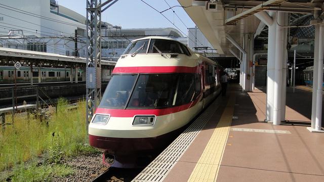 Odakyu Romancecar at Odawara