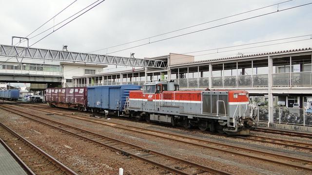 Shuttle DE10 at Yoshiwara