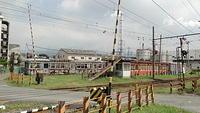 Level crossing at Hina