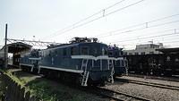 Chichibu locos  in Takekawa yard