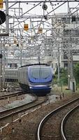 Super Hakuto passing Nishiakashi Station