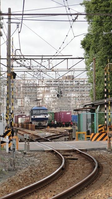 EF210 at Umeda Yards