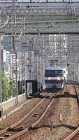 Freight approaching Noda Station