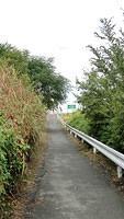 Path along south-east side of Yodogawa Bridge