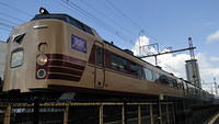 485 Series departing Suita