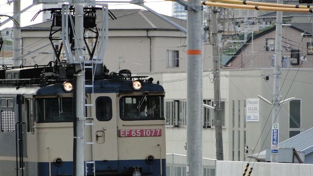 EF65 at Senrioka