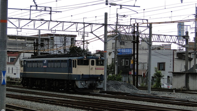 EF65 at Senrioka