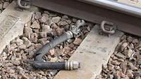 Discarded brake hose