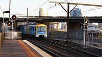 Siemens at North Melbourne Station