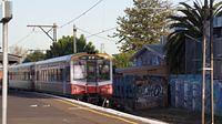 Sprinter passing Middle Footscray