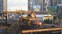 Removal of the hump at North Melbourne