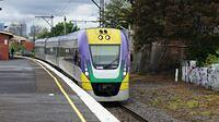 V/Locity passing Middle Footscray