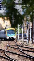 Siemens approaching Flinders St