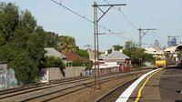 NRs past Middle Footscray