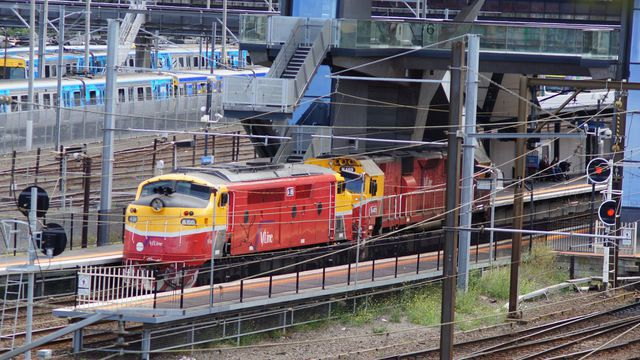 N469+A66 at North Melbourne