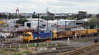 BL29 on steel at North Melbourne