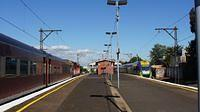 V/line passing Middle Footscray