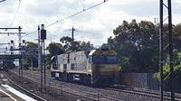 NRs light engine at Middle Footscray
