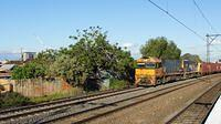 NR94+NR passing Middle Footscray